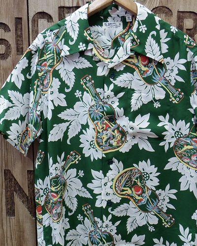 """画像1: SUN SURF -""""UKULELE MELODY""""- Hawaiian Shirts"""