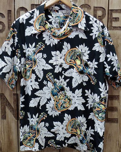 "画像3: SUN SURF -""UKULELE MELODY""- Hawaiian Shirts"