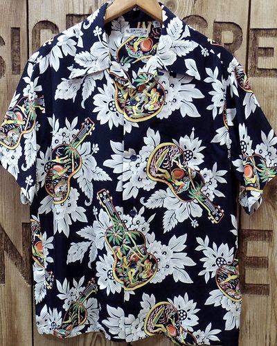 """画像4: SUN SURF -""""UKULELE MELODY""""- Hawaiian Shirts"""
