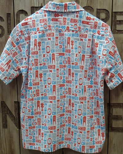 "画像5: SUN SURF -""TIKI ALLOVER"" COTTON OPEN SHIRT-"