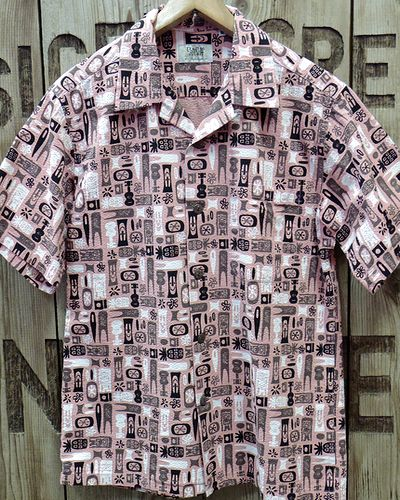"画像2: SUN SURF -""TIKI ALLOVER"" COTTON OPEN SHIRT-"