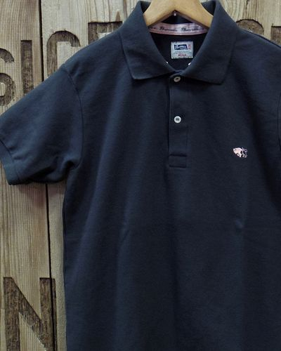 "画像1: Pherrow's ""PPS1"" Clingcollar POLO SHIRT"