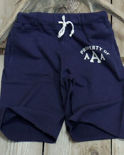 "画像4: DUBBLE WORKS -SWEAT SHORT PANTS ""PROPERTY OF AAA""-"
