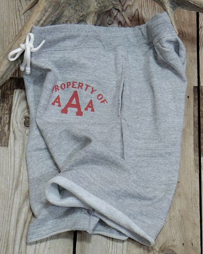 "画像1: DUBBLE WORKS -SWEAT SHORT PANTS ""PROPERTY OF AAA""-"