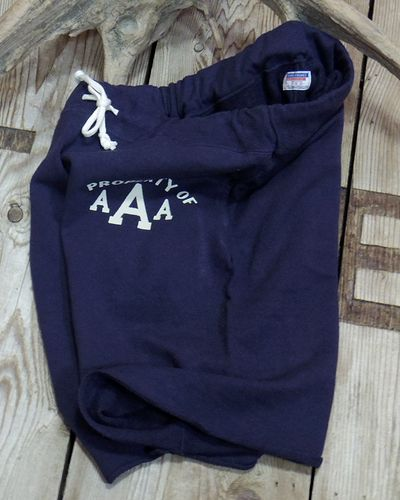 "画像5: DUBBLE WORKS -SWEAT SHORT PANTS ""PROPERTY OF AAA""-"