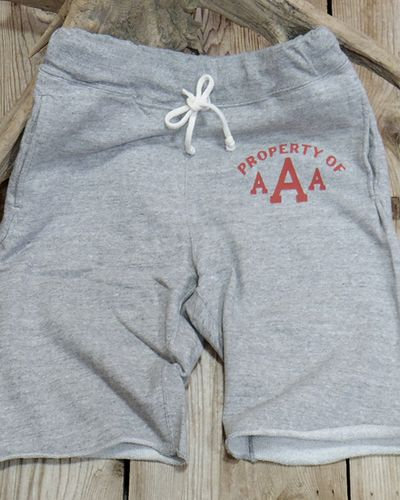"画像2: DUBBLE WORKS -SWEAT SHORT PANTS ""PROPERTY OF AAA""-"