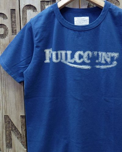 "画像1: FULLCOUNT -BASIC PRINT TEE ""WINNER""-"