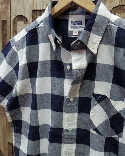 """画像3: Pherrow's """"19S-PBDS2"""" Cotton/Linen S/S BD Shirts"""