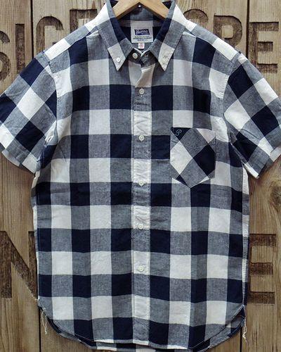 """画像2: Pherrow's """"19S-PBDS2"""" Cotton/Linen S/S BD Shirts"""
