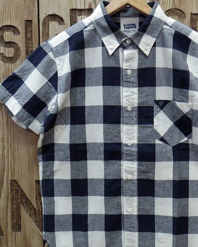 """画像1: Pherrow's """"19S-PBDS2"""" Cotton/Linen S/S BD Shirts"""