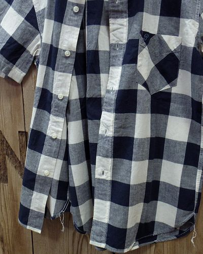 """画像4: Pherrow's """"19S-PBDS2"""" Cotton/Linen S/S BD Shirts"""