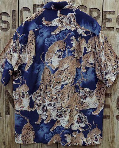 """画像5: SUN SURF -""""One Hundred Tigers"""" KALAKAUA- Hawaiian Shirts"""