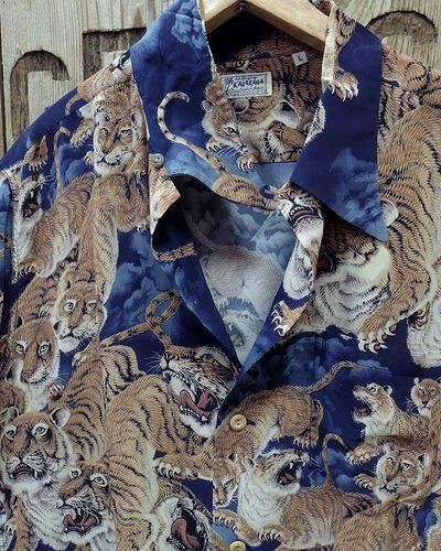 """画像3: SUN SURF -""""One Hundred Tigers"""" KALAKAUA- Hawaiian Shirts"""