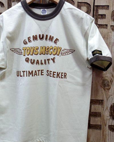 """画像3: TOYS McCOY -""""LOGO"""" TEE-"""