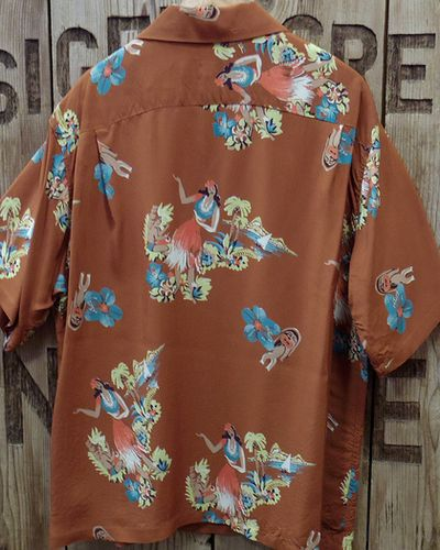 "画像3: SUN SURF -""BEING TO DANCE HULA""- ALOHA SHIRTS"