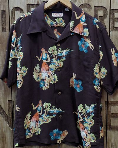 "画像4: SUN SURF -""BEING TO DANCE HULA""- ALOHA SHIRTS"