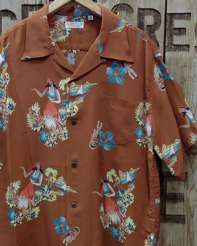 "画像1: SUN SURF -""BEING TO DANCE HULA""- ALOHA SHIRTS"