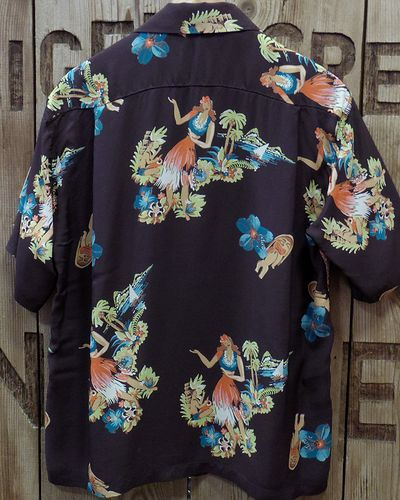 "画像5: SUN SURF -""BEING TO DANCE HULA""- ALOHA SHIRTS"