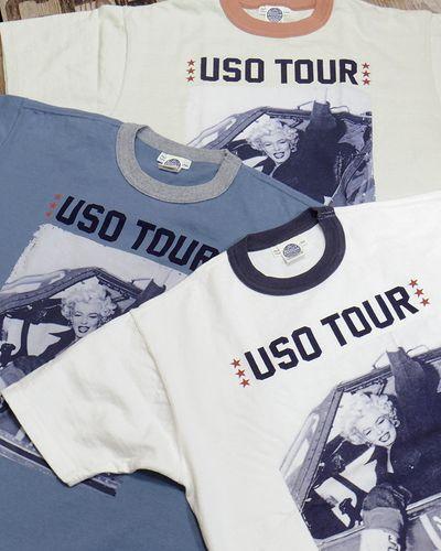 """画像1: TOYS McCOY -MARILYN MONROE TEE """"USO TOUR2""""-"""