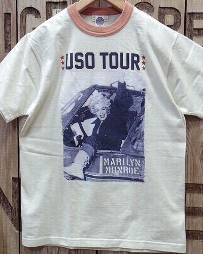 """画像4: TOYS McCOY -MARILYN MONROE TEE """"USO TOUR2""""-"""