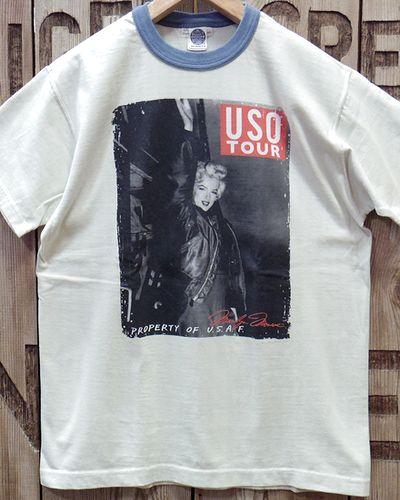 """画像2: TOYS McCOY -MARILYN MONROE TEE """"USO TOUR""""-"""