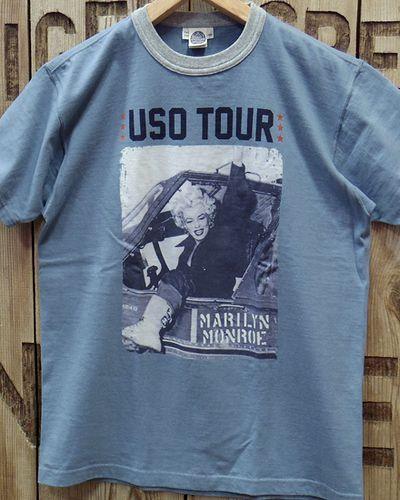 """画像3: TOYS McCOY -MARILYN MONROE TEE """"USO TOUR2""""-"""