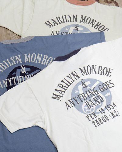 """画像5: TOYS McCOY -MARILYN MONROE TEE """"USO TOUR2""""-"""