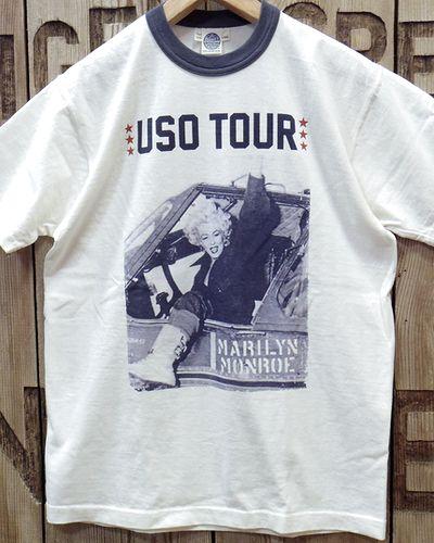 """画像2: TOYS McCOY -MARILYN MONROE TEE """"USO TOUR2""""-"""