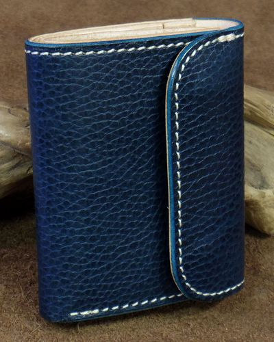 "画像5: Opus -""MINI WALLET"" Embossed BUTTERO Leather-"