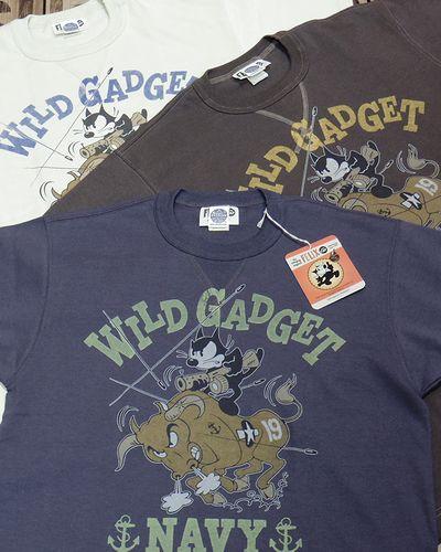 """画像1: TOYS McCOY -MILITARY TEE SHIRT """"WILD GADGET""""-"""