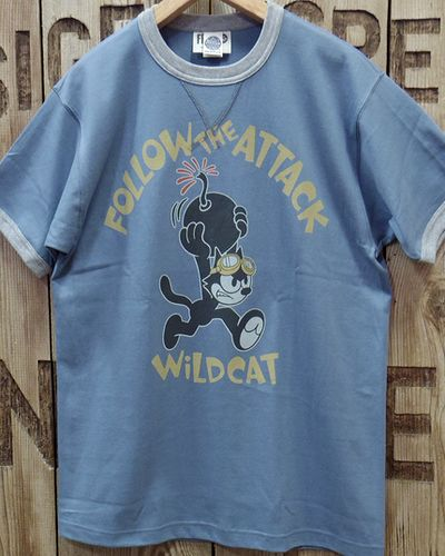 "画像3: TOYS McCOY -MILITARY TEE SHIRT ""WILD CAT""-"