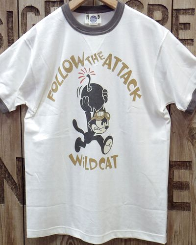 "画像2: TOYS McCOY -MILITARY TEE SHIRT ""WILD CAT""-"