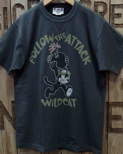 "画像4: TOYS McCOY -MILITARY TEE SHIRT ""WILD CAT""-"