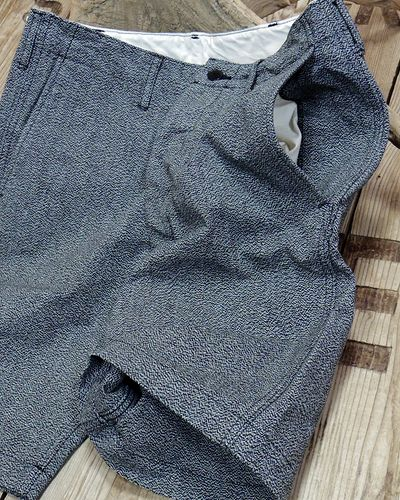 画像4: CUSHMAN 22221 -MIX CANVAS SHORT PANTS- / MIX BLACK