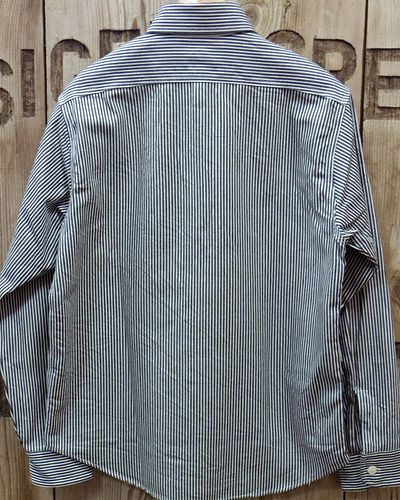 画像5: Sugar Cane -HICKORY STRIPE L/S WORK SHIRT-