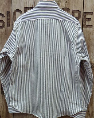 画像3: Sugar Cane -HICKORY STRIPE L/S WORK SHIRT-