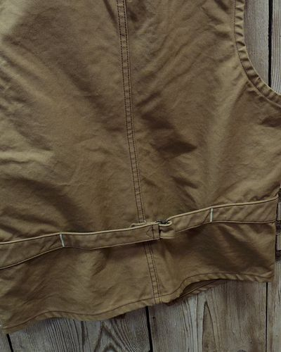 画像5: SUGAR CANE -13oz. BROWN DUCK WORK VEST-