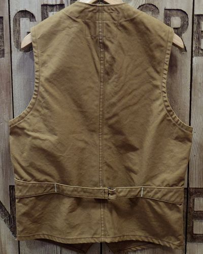 画像4: SUGAR CANE -13oz. BROWN DUCK WORK VEST-