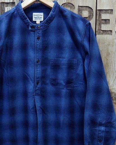 "画像1: Pherrow's ""19W-762WS-IND"" Grandpa Shirts"