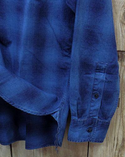"画像4: Pherrow's ""19W-762WS-IND"" Grandpa Shirts"