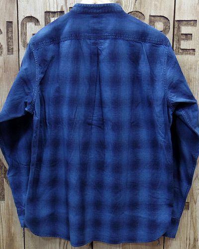 "画像5: Pherrow's ""19W-762WS-IND"" Grandpa Shirts"