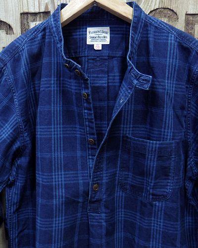 "画像3: Pherrow's ""19W-762WS-IND"" Grandpa Shirts"