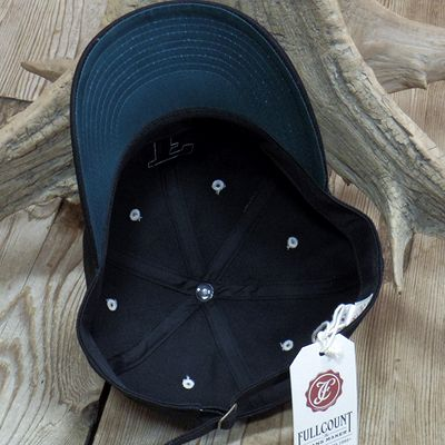 画像5: FULLCOUNT -BLACK TWILL F BASEBALL CAP-
