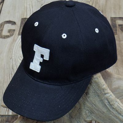 画像3: FULLCOUNT -BLACK TWILL F BASEBALL CAP-