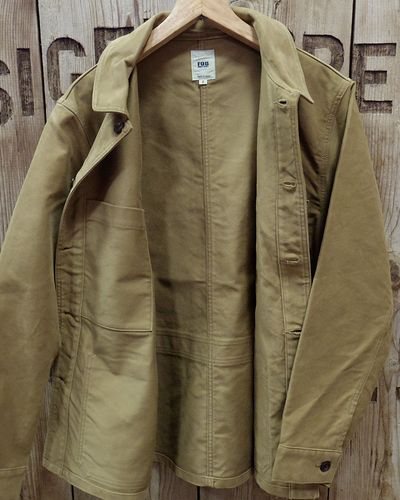 "画像4: FOB FACTORY ""FRENCH MOLESKIN JACKET"""
