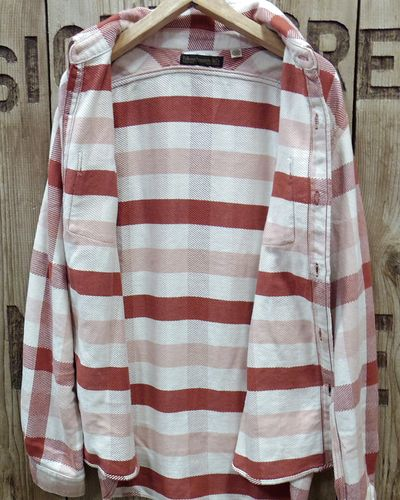 "画像4: FULLCOUNT -ORIGINAL CHECK NEL SHIRTS ""BROWNE""-"
