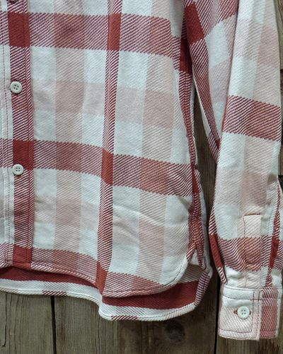 "画像3: FULLCOUNT -ORIGINAL CHECK NEL SHIRTS ""BROWNE""-"