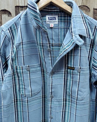 "画像2: Pherrow's ""19W-720WS"" Heavy Flannel Shirts"