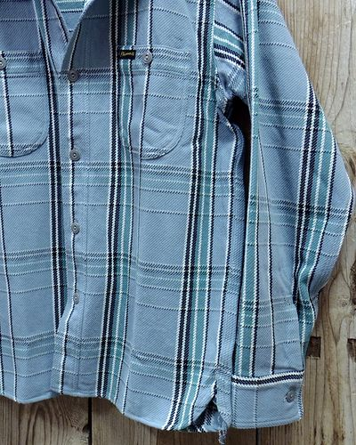 "画像3: Pherrow's ""19W-720WS"" Heavy Flannel Shirts"