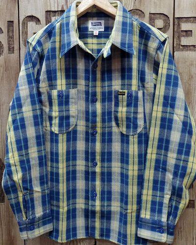 """画像1: Pherrow's """"19W-720WS"""" Heavy Flannel Shirts"""